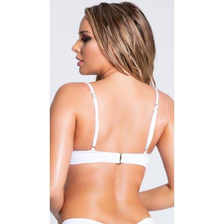 Yandy Morganite Glow Peek-a-boo Bikini Top