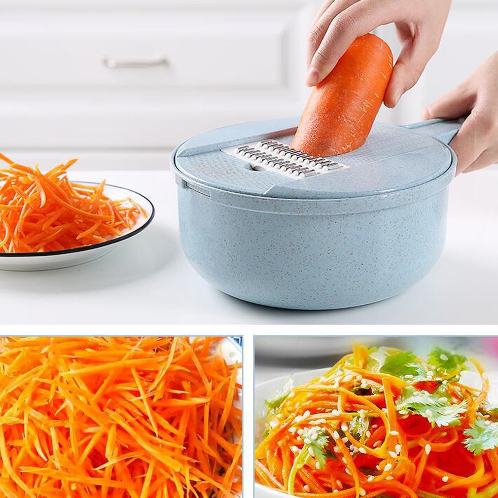 5 In 1 Multipurpose Vegetable Slicer Slicer Vegetable Cutter Round Slicer