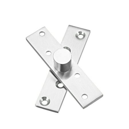 2 Sets Stainless Steel 360 Degree Door Pivot Hinge 100 x 24mm - image 4 of 4