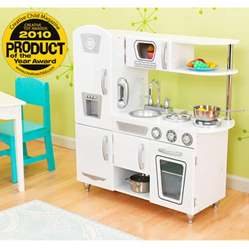 KidKraft Vintage Wooden Play Kitchen, White