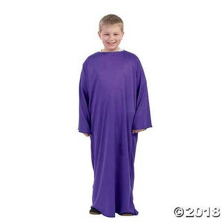 Child's Purple Nativity Gown