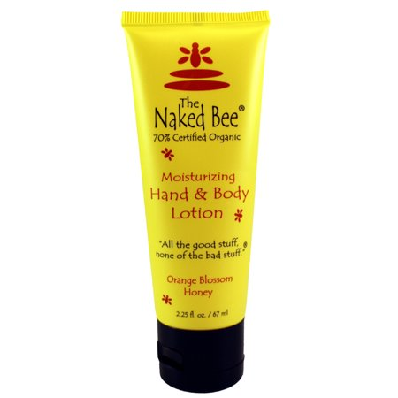 The Naked Bee ORANGE AND HONEY BLOSSOM HAND & B/L 2.25 oz / 67 ml For Women By The Naked Bee