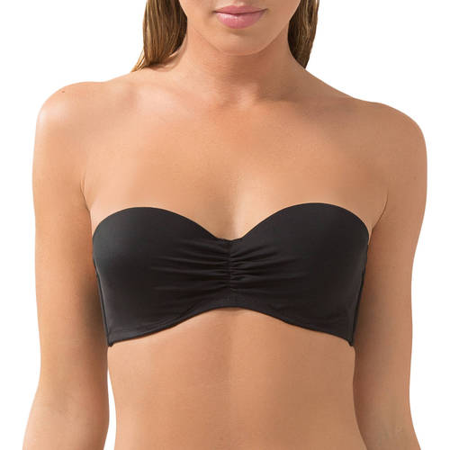 Women's Swim Secret Bandeau Swimsuit Top - Walmart Swim Toys