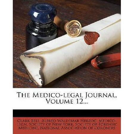 The Medico-Legal Journal, Volume 12 - image 1 de 1