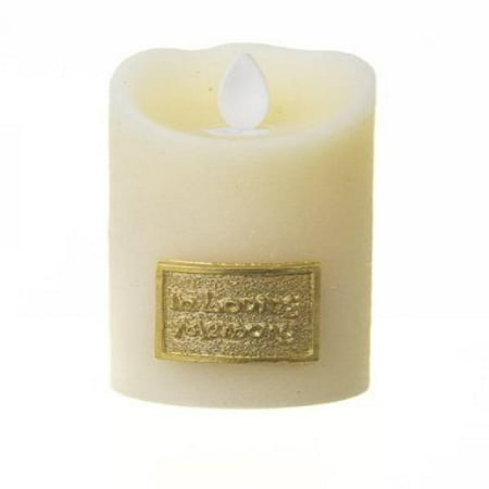 Copa Judaica Ivory LED Memorial Candle Holder - In Loving Memory