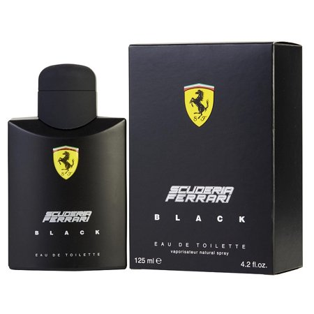 SCUDERIA FERRARI BLACK * Ferrari 4.2 oz / 125 ml Eau de Toilette Men Cologne