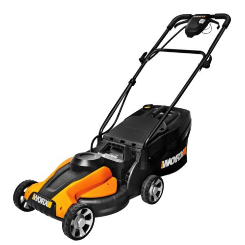 WORX Lil'Mo 14-Inch 24-Volt Cordless Lawn Mower with Easy...