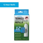 Thermacell Mosquito Repellent Refills; 3 Mats and 1 Fuel Cartridge