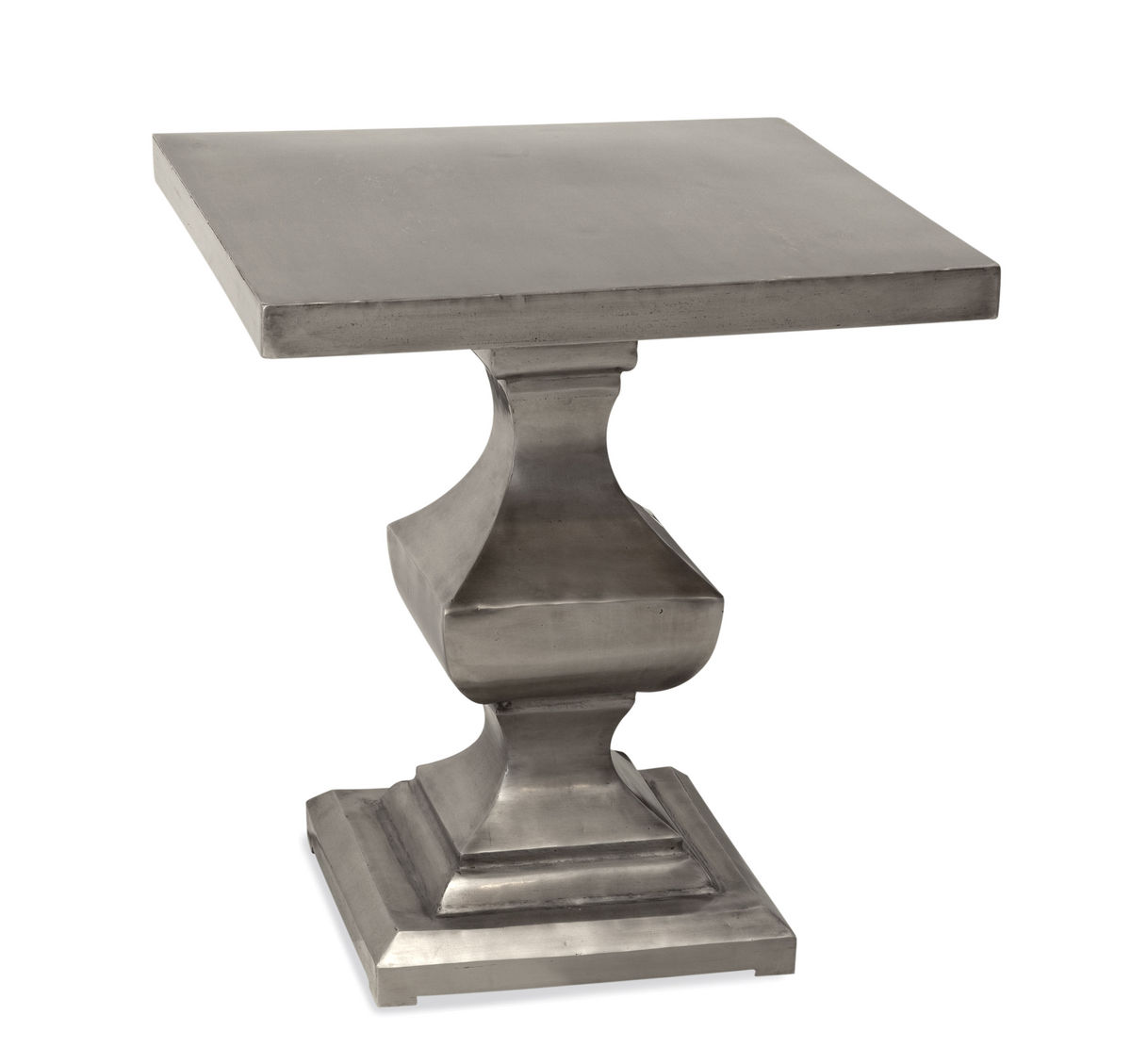 Bassett Belgian Modern Emmit Square End Table by