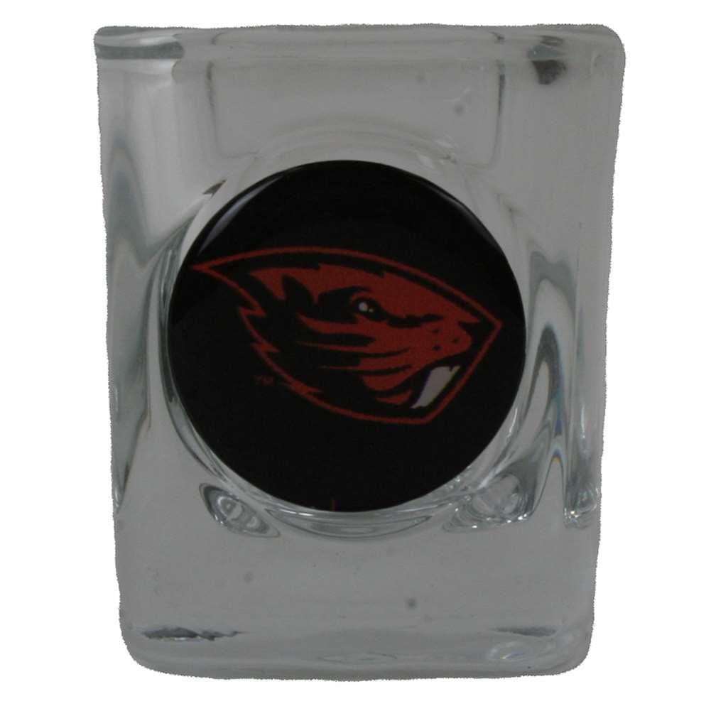 Oregon State Beavers Shot Glass - Square 2oz