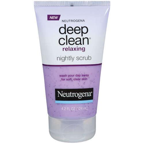 Neutrogena Relaxing Nightly Scrub Deep Clean 4.2 fl oz