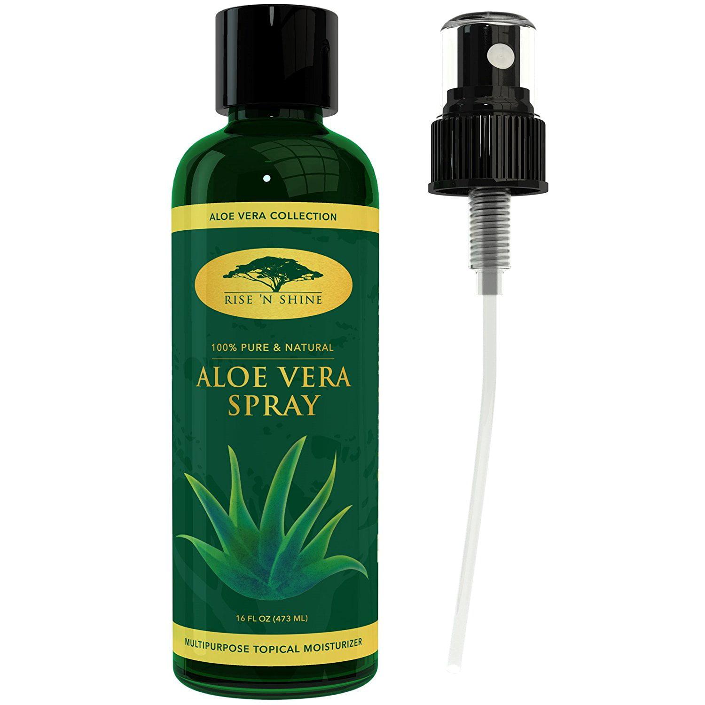 aloe vera gel as moisturizer for dry skin