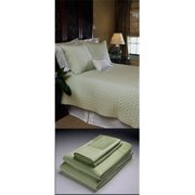 Home Source 100 Percent Bamboo Cal King Fitted Sheet