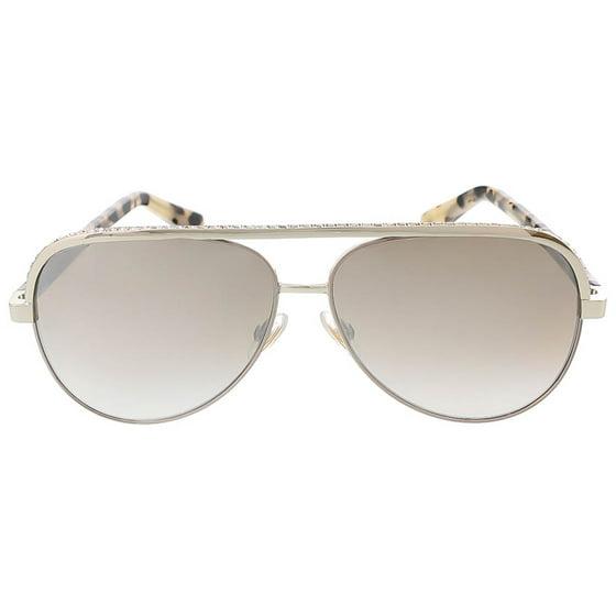 f39278e665d6 Jimmy Choo - Jimmy Choo LINA S 0J8B Light Gold Aviator sunglasses ...