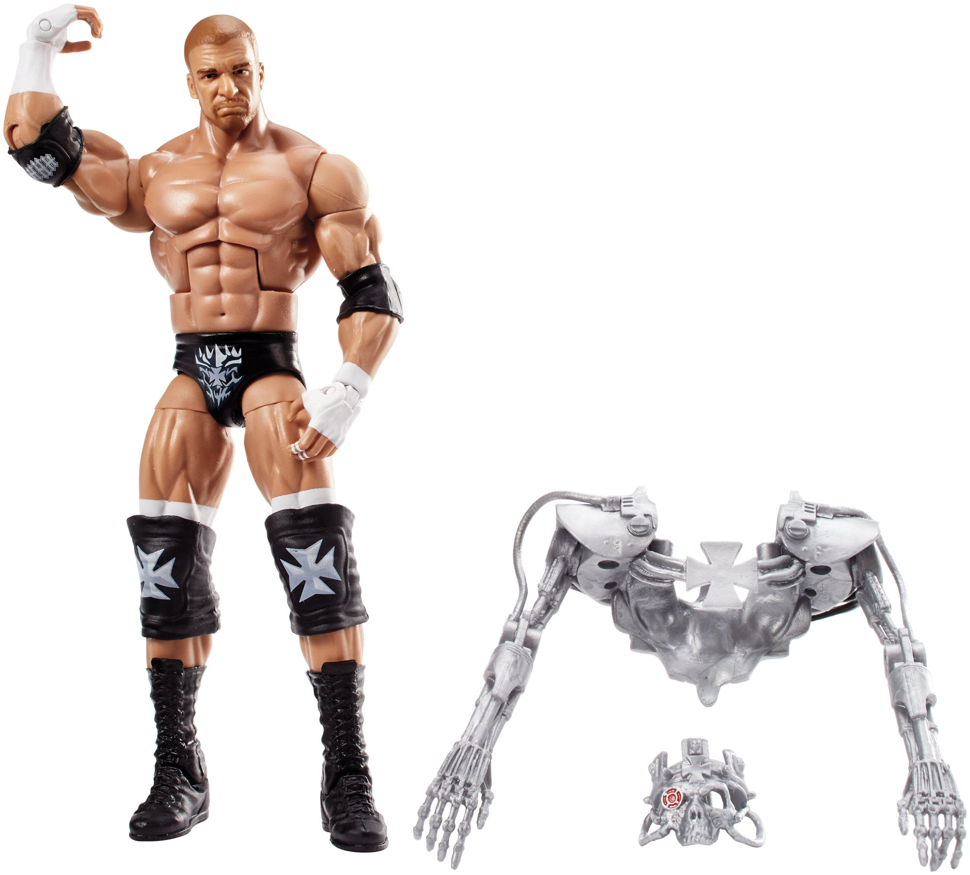 WWE Elite Triple H Action Figure by Mattel