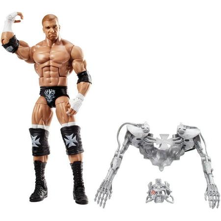 Triple Action Head - WWE Elite Triple H Action Figure