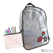 Holographic Backpack with BONUS Sequin Pouch