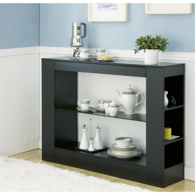 Furniture of America Joliceur Sideboard in Black by Furniture of America
