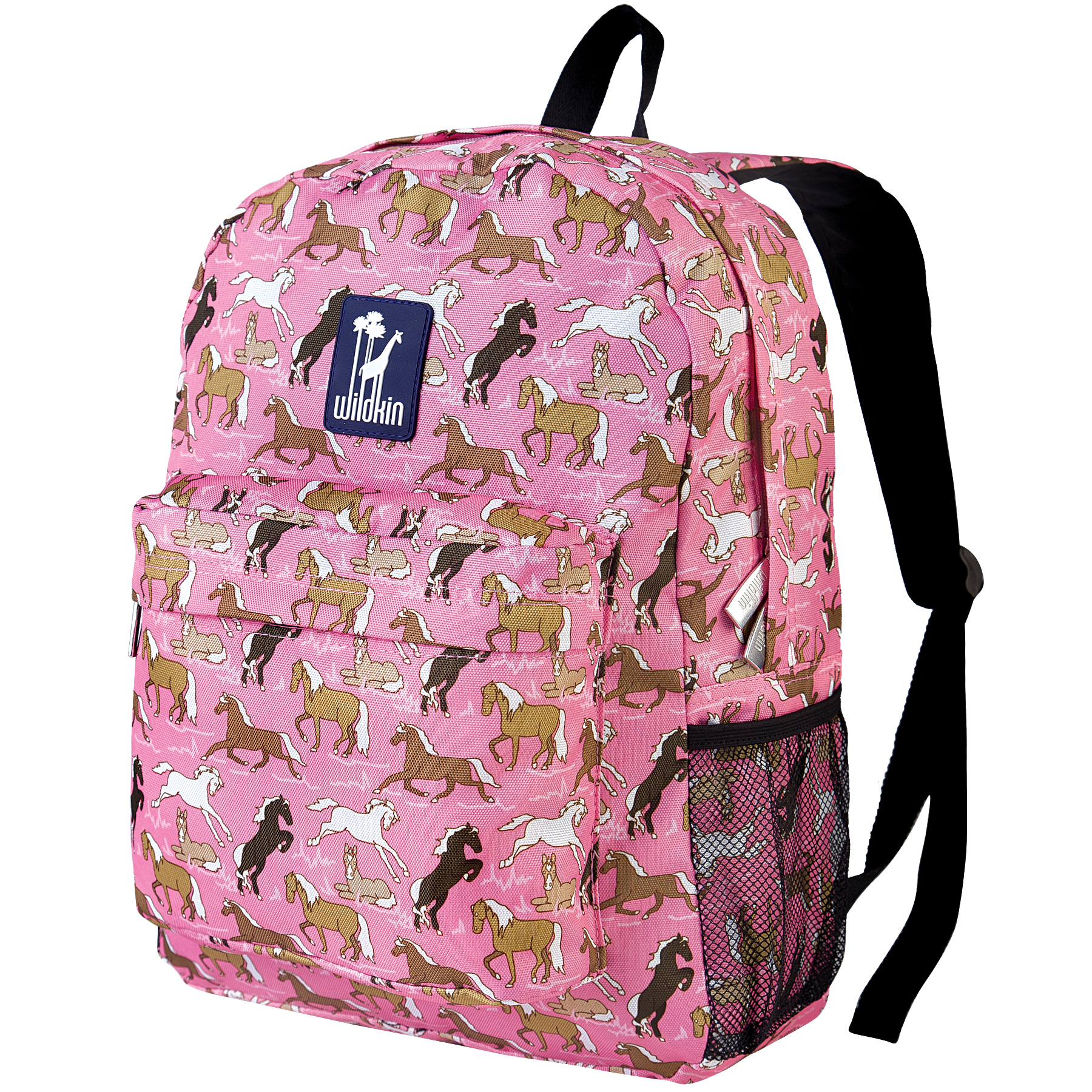 Wildkin Horses in Pink 16 Inch Backpack