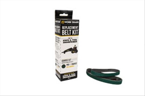 "Drill Doctor WSSA0002703 P80 Extra-Coarse Grit Assirtnebt Belt Kit, 1 2"" x 12"" by Drill Doctor"