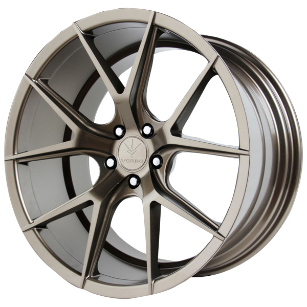 "20"" Inch Verde V99 Axis 20X9 5x112 +32mm Bronze Wheel Rim"