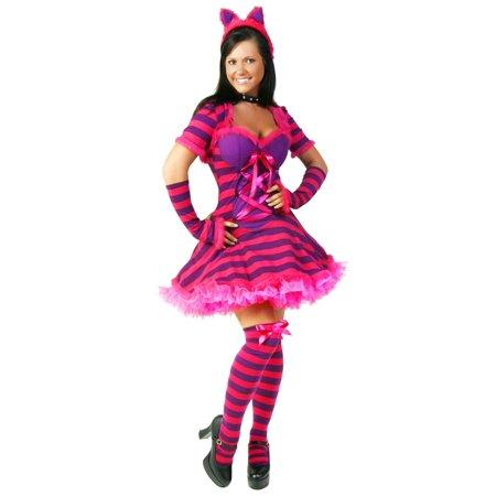 Sexy Wonderland Cat Costume](Cheshire Cat Costumes)