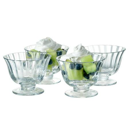 Artland Aspen Coupe Dessert Bowl - Set of 4