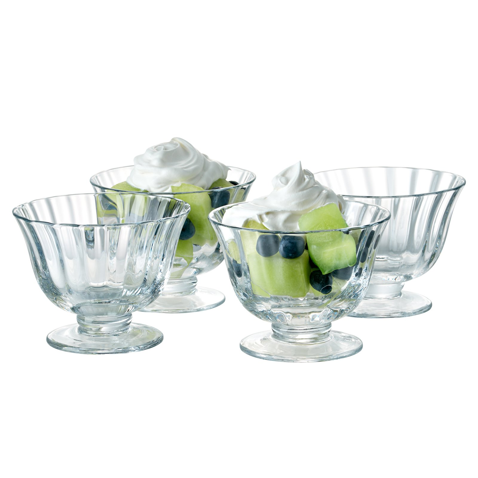 Artland Aspen Coupe Dessert Bowl - Set of 4