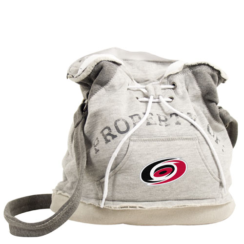 Littlearth NHL Hoodie Duffel Grey/Carolina Hurricanes