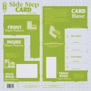 Hot Off The Press 3510 Hot Off The Press Template -Side-Step Swing Card