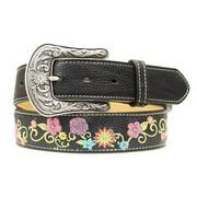 Ariat Accessories Women's Embroidered Belt BLACK M