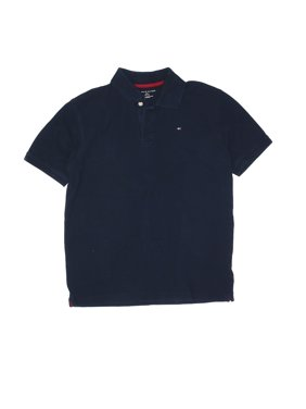 Pre-Owned Tommy Hilfiger Boy's Size L Kids Short Sleeve Polo