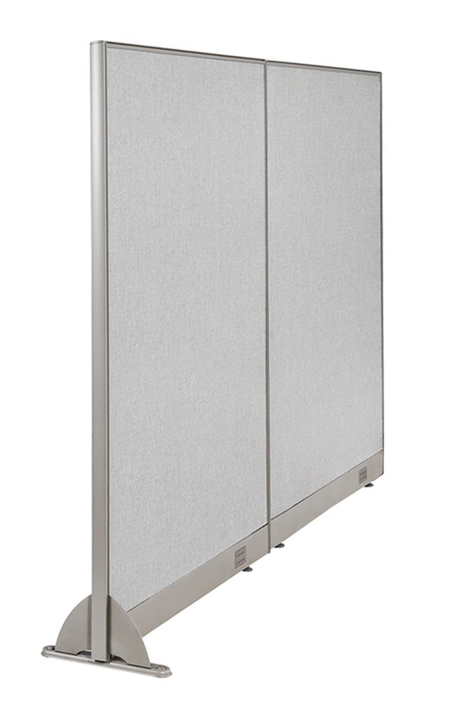 "72""W x 48""H Wall Mounted Office Partition Cubicle Panel Room Divider by GOF"