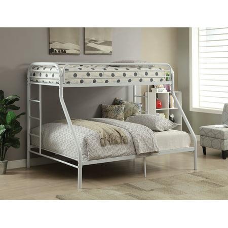 Acme Tritan Twin Xl Over Queen Bunk Bed White Walmartcom