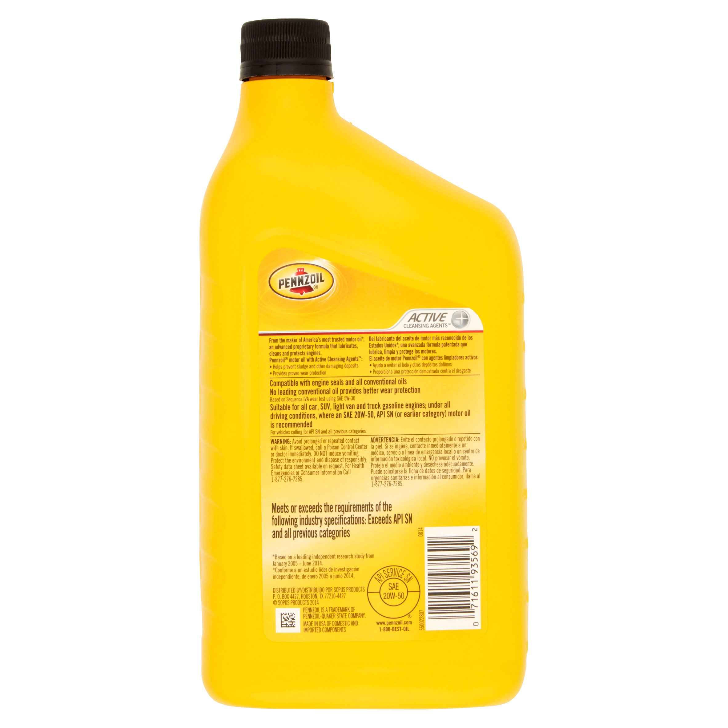 Pennzoil motor oil msds for Quaker state advanced durability motor oil review