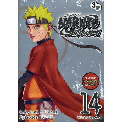 Naruto Shippuden Uncut Set 14 (Anamorphic Widescreen)