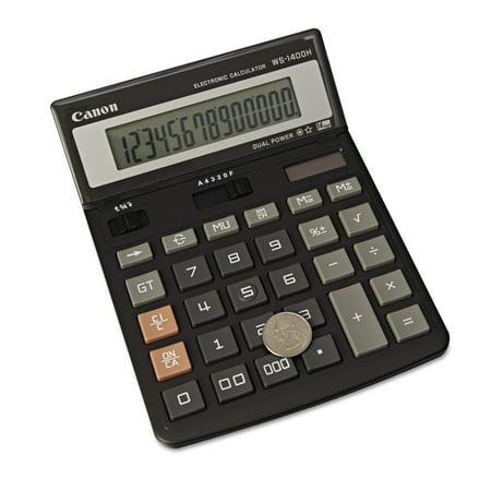 Canon WS1400H Display Calculator, 14-Digit LCD 802.11b/g Lcd Display