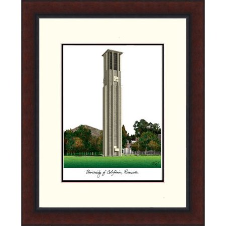 Riverside Lithograph (UC Riverside Legacy Alumnus Framed Lithograph)