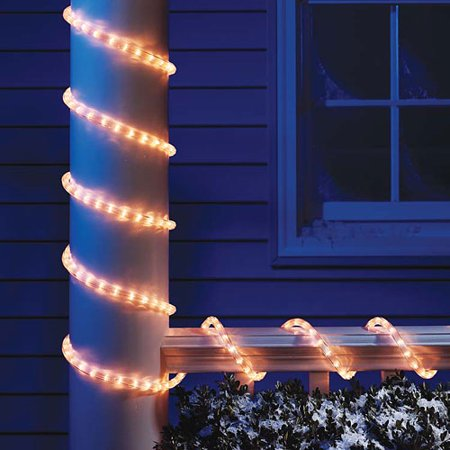 Holiday time christmas lights 18 ft clear light rope walmart holiday time christmas lights 18 ft clear light rope aloadofball
