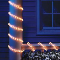 product image holiday time christmas lights 18 ft clear light rope