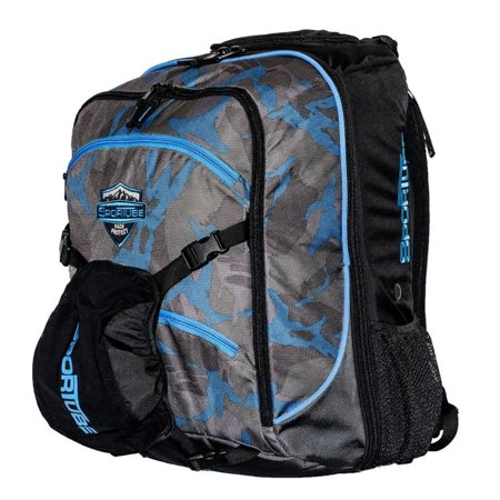 9731ea86b7 Sportube - Overheader Padded Gear and Boot Backpack-Camo - Walmart.com