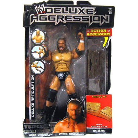 WWE Wrestling Deluxe Aggression Best of 2009 Triple H Action