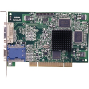 Matrox Millennium G450 PCI - Graphics card - MGA G450 - 32 MB DDR - PCI - DVI, D-Sub, TV-out