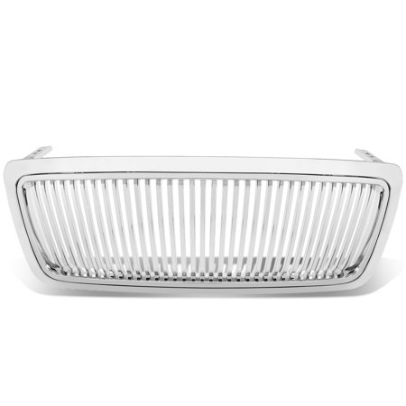 For 2004 to 2008 Ford F-150 11th Gen Exterior Body Kit (Chrome Front Grille Vertical Style) 05 06 07