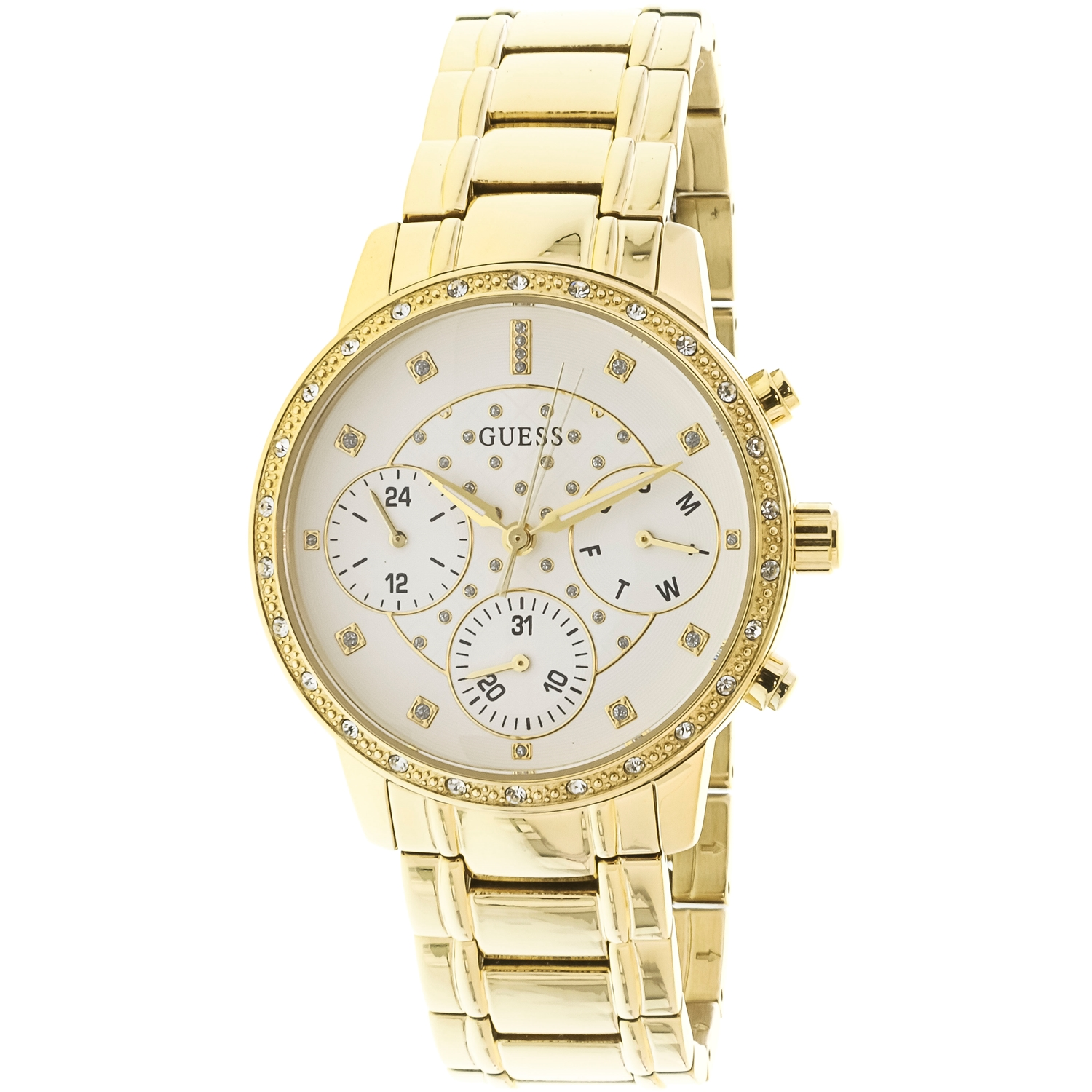 Guess U1022L2 Gold Stainless-Steel Japanese Quartz Fashion Watch