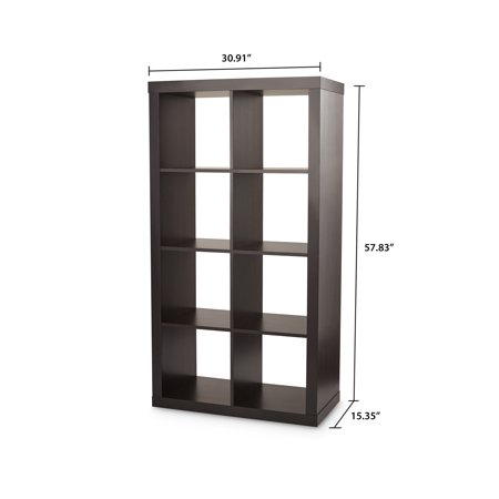 Better Homes & Gardens 8 Cube Storage Organizer, Multiple Colors