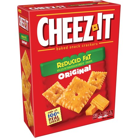 Cheez It  Reduced Fat Original Baked Snack Crackers 11 5 Oz  Box