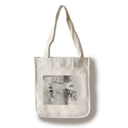 Black Woman Holding Tobacco Leaf Photograph (100% Cotton Tote Bag - Reusable)
