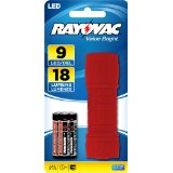 Rayovac Value Bright 9 LED Mini Flashlight - Batteries Included + 30% Off