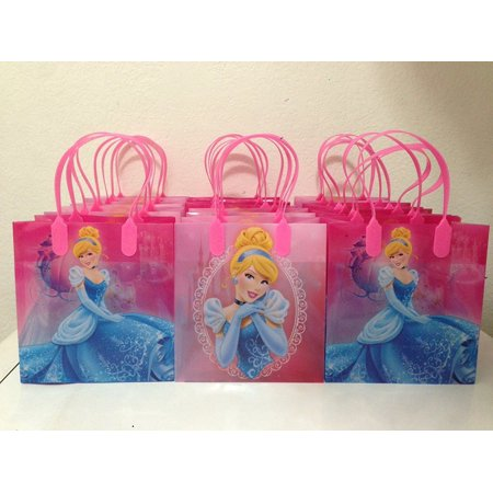 Disney Cinderella Party Favor Goodie Small Gift Bags 13 (Cinderella Gifts)